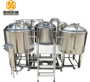 Chiny SS304 Material Small Microbrewery Equipment, Automated Beer Brewing System fabryka