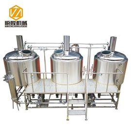 Jasny kolor ze stali nierdzewnej 1000Lbeer Brewing Equipment, Micro Brew Brewery Equipment