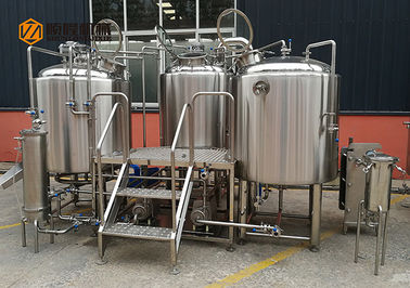 Plc Control Craft Beer Brewing Equipment, Commercial Beer Distillery Equipment